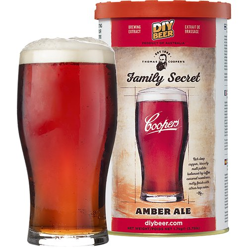 Brewkit Coopers Family Secret Amber Ale  - 1 ['amber ale', ' piwo', ' brewkit']