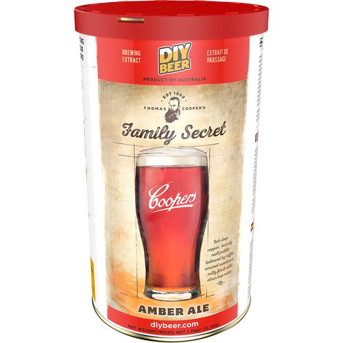 Brewkit Coopers Family Secret Amber Ale - 2 ['amber ale', ' piwo', ' brewkit']