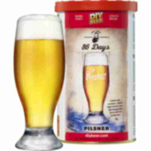 Brewkit Coopers 86 days Pilsner