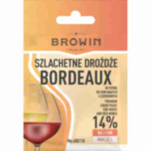 Drożdże winiarskie Bordeaux, 20 ml